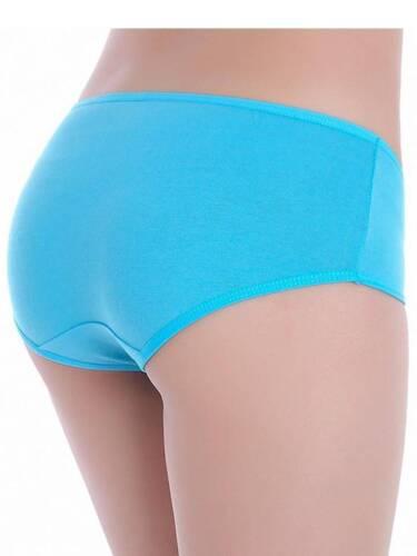 L Stretch Cotton Panties XL Black Peach Sizes M XXL Pink Blue Cream
