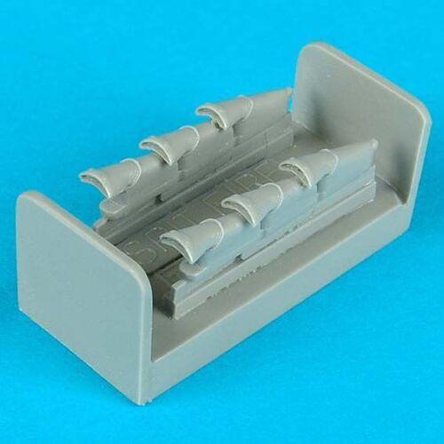V exhaust für Tamiya Bausatz Neu Quickboost 48082-1:48 Spitfire mk