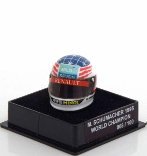 1:12 JF Creations Benetton helmet World Champion Schumacher 1995