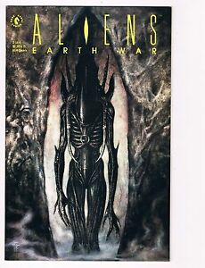 ALIENS-EARTH-WAR-1991-Series-3-Near-Mint-Comics-Book-comic