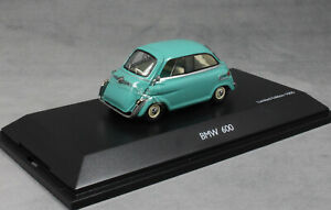 Schuco-BMW-600-MICROCAR-en-Turquesa-1957-450235500-1-43-Nuevo-Ltd-Ed-1000