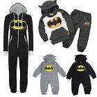 Mens Womens Kids Baby Batman Hoodies Jumpsuits Romper Playsuit Pyjama Tops Pants