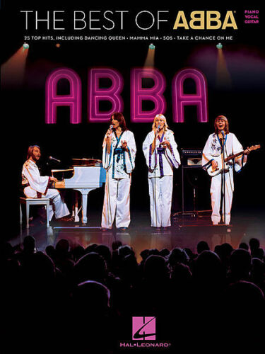 """/""""THE BEST OF ABBA/"""" PIANO//VOCAL//GUITAR MUSIC BOOK 25 SONGS BRAND NEW SONGBOOK!!"""