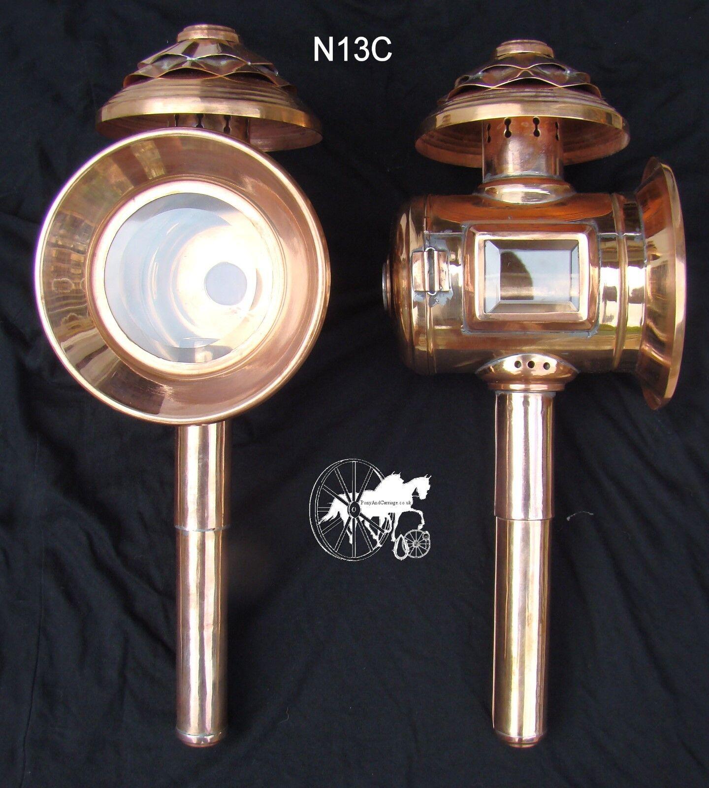 Horse Carriage  Lamps Styles  N12   N13   NEW N13C Limited Edition Copper Sheet  quality product