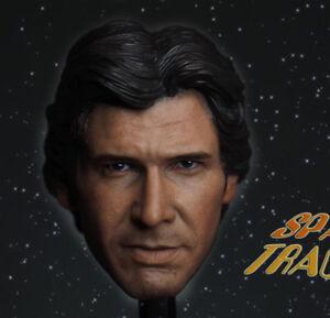 Head-Sculpt-For-Hot-Toy-Figure-Body-Custom-1-6-Scale-Harrison-Ford-Han-Solo-Head