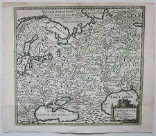 1697 SARMATIA SCYTHIA Philipp Cluver acquaforte Офорт Russia Россия Москва