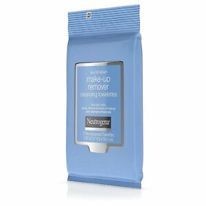 Neutrogena Makeup Remover Cleansing 7 Pre-Moist Towelettes,Travel Size PACK OF 2