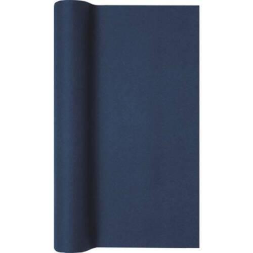 Mesa de papel alfil azul oscuro azul 40x490cm airlaid Home Fashion