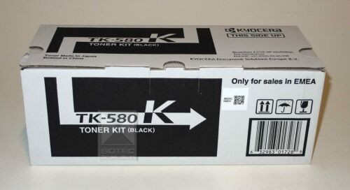 Kyocera Toner Kit TK-580K Black Schwarz für FS-C5150 Ecosysy P6021cdn