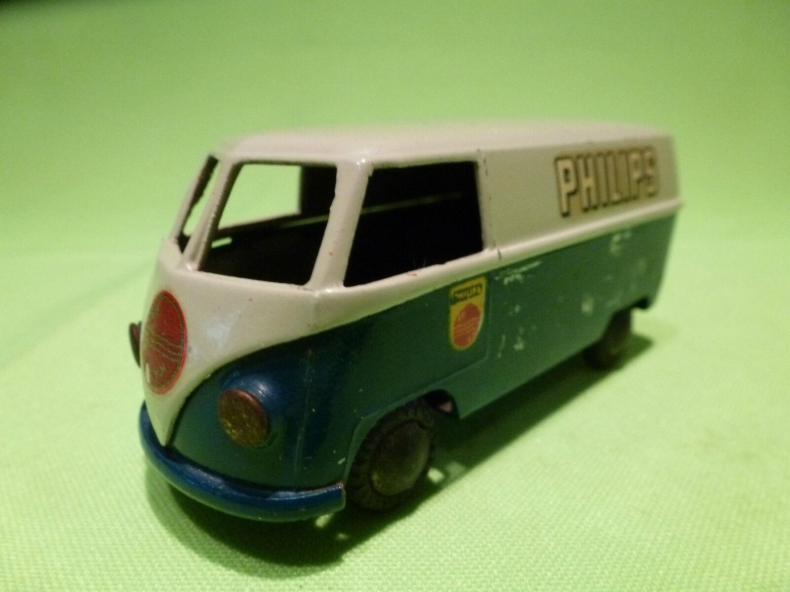 Descuento del 70% barato TEKNO DENMARK  1 43   VOLKSWAGEN BUS BUS BUS  -  PHILIPS   - VW BUS   IN GOOD CONDITION  tienda de venta en línea