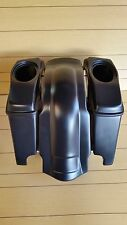 "HARLEY DAVIDSON 4"" EXTENDED  STRETCHED SADDLEBAGS,LIDS AND REAR FENDER INCLUDED"