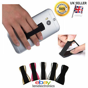 Universal Finger Grip Selfie Strap Sling Phone Holder, iPhone Galaxy & Tablets