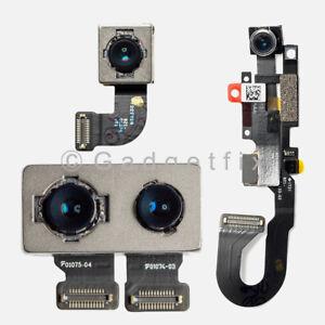 new concept 12b03 217f6 Details about iPhone 8 Plus X 10 Facing Front Camera Sensor Back Rear  Camera Lens Flex Cable