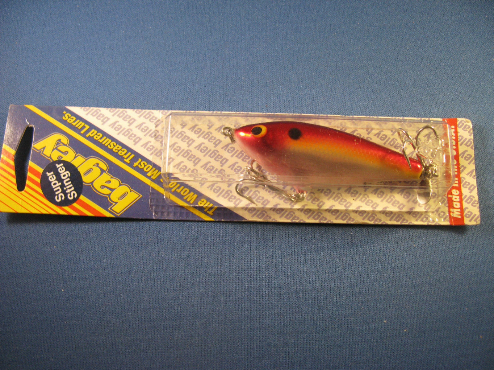 BAGLEY SPINNER SHAD 3   FISHING LURE   F13S    (1)