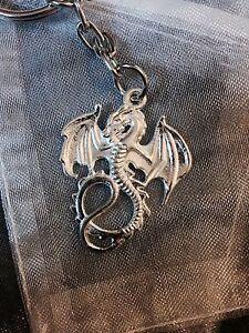 Dragon Keychain Goth Punk Emo Reptile - Braintree, United Kingdom - Dragon Keychain Goth Punk Emo Reptile - Braintree, United Kingdom