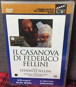 IL Casanova DVD Nuovo Editoriale di Federico Fellini D. Sutherland Come Foto N
