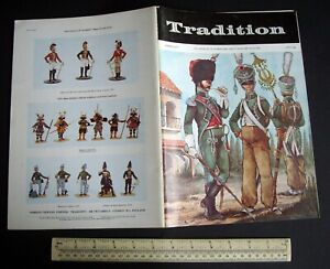 Vintage-1970s-034-Tradition-034-60-Superb-Model-Soldier-amp-Military-History-Magazine