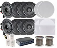 Pyle Kthsp380 In-wall/ceiling 200w System 4 Pair 6.5 Speaker W/200 Ft Wire