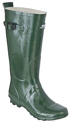 Da Uomo Trespass Verde Stivali Wellington Taglie 39 - 46 Uk Nuove- Avere Uno Stile Nazionale Unico