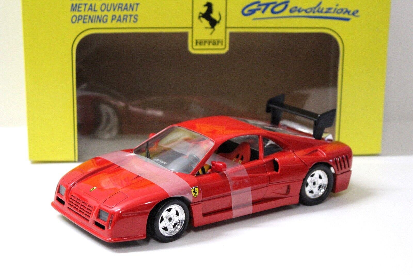 1 18 Jouef Evolution Ferrari GTO Evoluzione Red NEW in Premium-modelcars