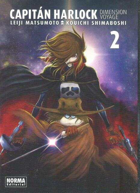 CAPITAN HARLOCK . DIMENSION VOYAGE 2