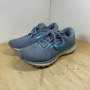 Brooks Ghost 12 Womens Size 10 Blue Athletic Walking Running Shoes Sneakers