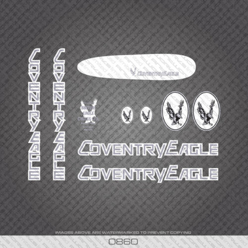 Coventry Eagle Bicycle Decals Transfers Stickers