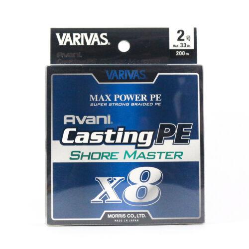 4991 Varivas P.E Linie Shore Master Max Power X8 200m P.E 2 33lb