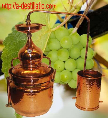 40 L distillerie bain-marie distillerie avec thermomètre