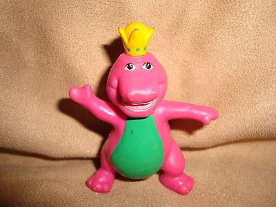 Barney The Dinosaur Wearing Crown 1993 Pvc 2 5 Quot Ebay