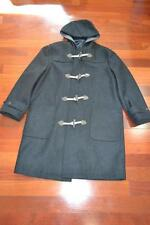 New with Tag Lanvin Dark Grey 100% Wool Duffle Coat Size 48 (US 38) M Italy