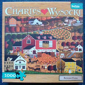 jigsaw-puzzle-1000-pc-Butternut-Farms-Pumpkins-Wysocki-Americana-Buffalo-Games