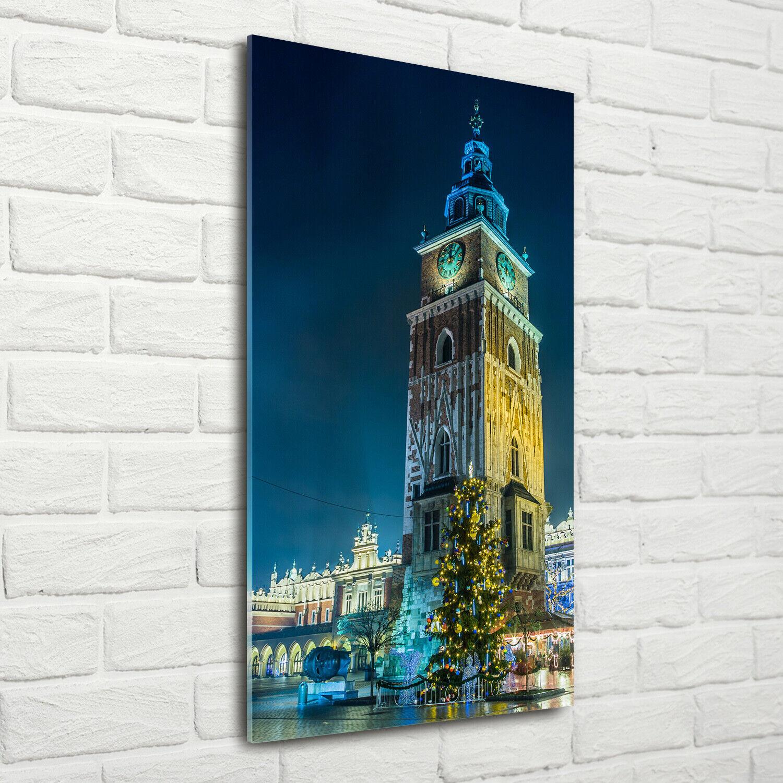 Wand-Bild Kunstdruck aus Acryl-Glas Hochformat 70x140 Krakau Polen