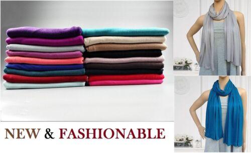 Latest jersey stretchy hijab big large plain lycra maxi scarf shawl wrap*JrsScrf