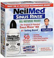 Neilmed Pharmaceuticals - Original Sinus Rinse Sinus Flush Kit (50 Packets)