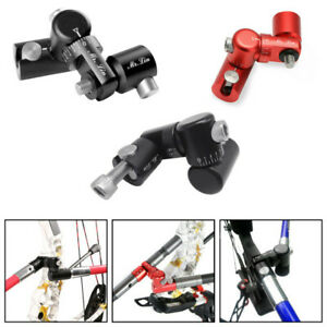 Archery-Single-Side-V-Bar-Adjustable-Quick-Disconnect-Mount-Bow-Stabilizer-UF