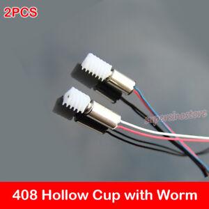 Mini 4mm*8mm DC 3.7V 40000RPM High Speed Worm Gear Mini Coreless Motor DIY Toy