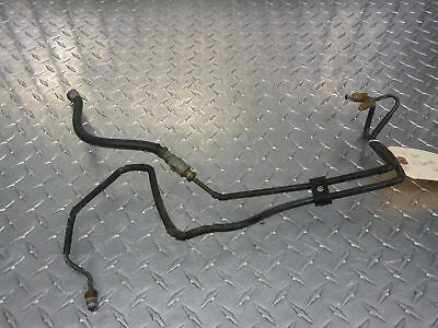 BMW K1100RS 16V ABS 2 94-97 CLASSIC BLACK STAINLESS REAR BRAKE LINE