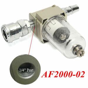 Frugal Filtre Piège à Eau Af2000-02 Pour Compresseur D'air Séparateur De Régulateur