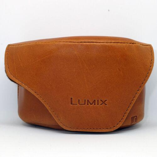 5 Cámara Panasonic LX Cuero Estuche Para DMC-LX3 Marrón * Nuevo