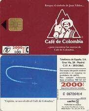 2000 + 100 PTA. Publicitaria. Café de Colombia. CabiTel.