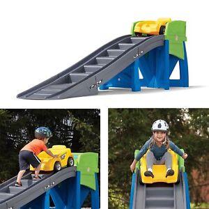 Ride-On Extreme Roller Coaster Playset Backyard Mini ...