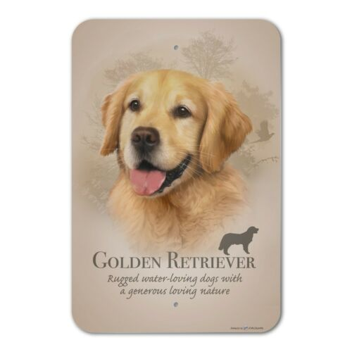 Golden Retriever Dog Breed Home Business Office Sign