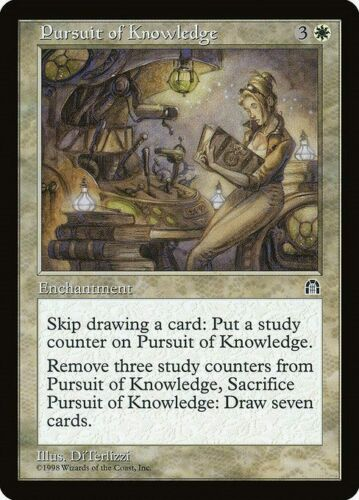 MTG Stronghold Pursuit of Knowledge