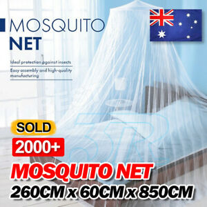 Double-Single-Queen-Canopy-Bed-Curtain-Dome-Stopping-Mosquito-Net-Midges-Insect