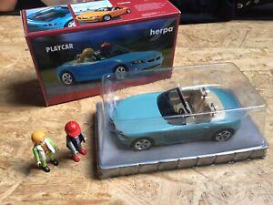 Playmobil-Herpa-Playcar-BMW-Z4-ovp-RARITAT