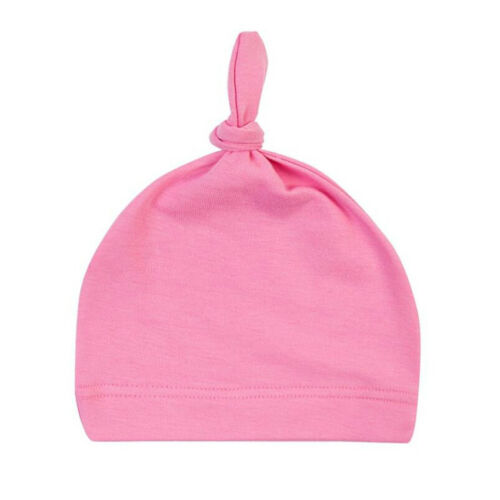 Hot Cotton Beanie Newborn Baby Knotted Hat Boys Girls Soft Cap For Infant Toddle