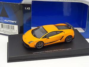 Auto-Art-1-43-Lamborghini-Gallardo-LP570-4-Superleggera-Orange
