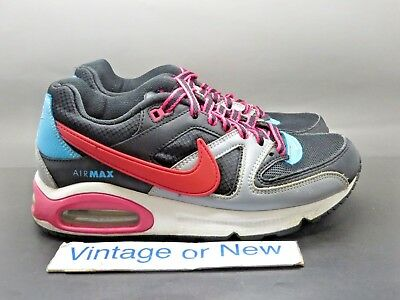nike running shoes black and pink, Nike Air Max Command