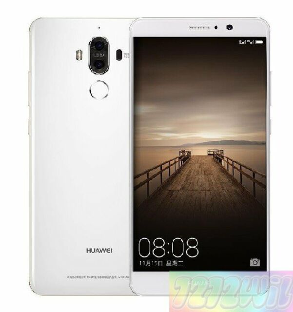 Huawei MHA-L29 Mate 9 White 64GB 20MP 4G LTE EXPRESS SHIP  Smartphone